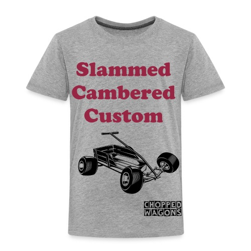 slammed,cambered,custom - Kids' Premium T-Shirt