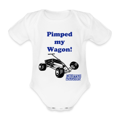 Pimped my Wagon - Organic Short-sleeved Baby Bodysuit