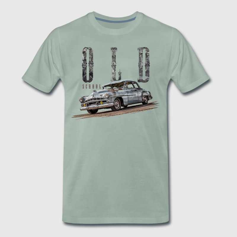 old school 1951 dodge  T-Shirts - Männer Premium T-Shirt