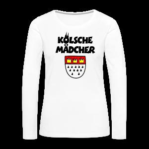 Kölsche Mädcher mit Kölner Wappen Köln Design