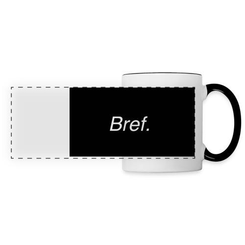 Bref. - Mug panoramique contrasté et blanc