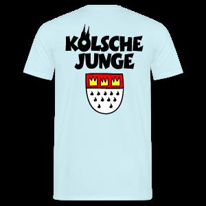 Kölsche Junge mit Kölner Wappen Köln T-Shirt - Männer T-Shirt