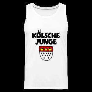 Kölsche Junge mit Kölner Wappen Köln Tank Top - Männer Premium Tank Top