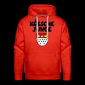 Kölsche Junge mit Kölner Wappen Köln Hoodie - Männer Premium Hoodie