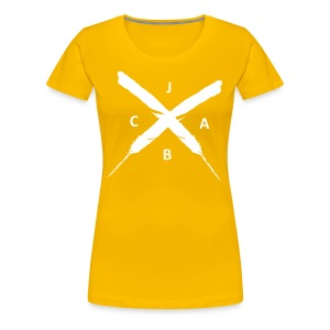 JABC x women favoriteyellow - Frauen Premium T-Shirt