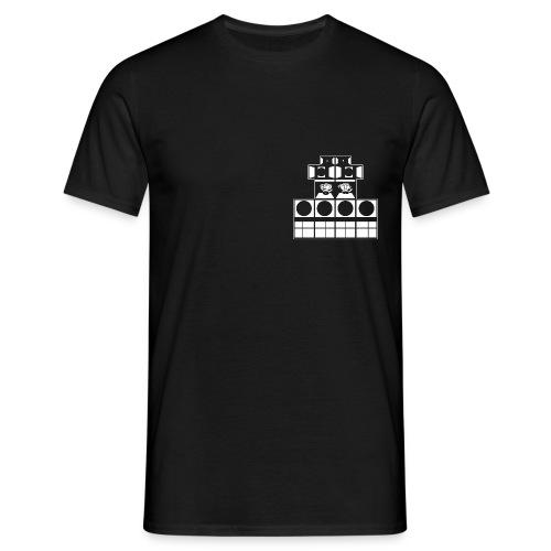 Einfarbig, Schild hinten - Männer T-Shirt