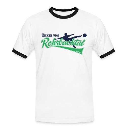 SGOS Supporter | Kicker vom Rohrbachtal - Männer Kontrast-T-Shirt