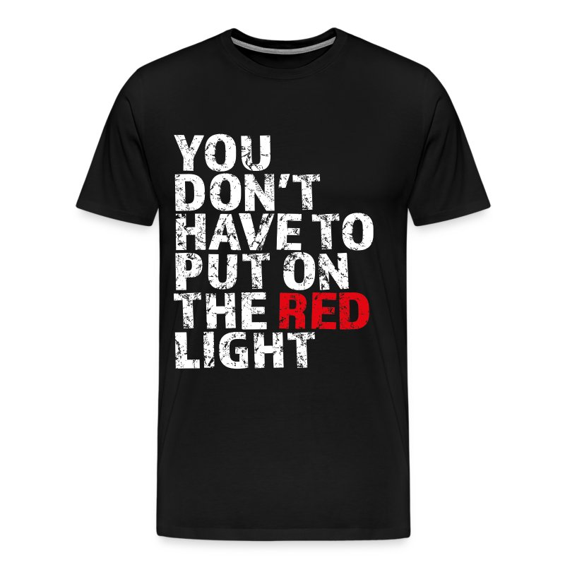 Red Light - Men's Premium T-Shirt