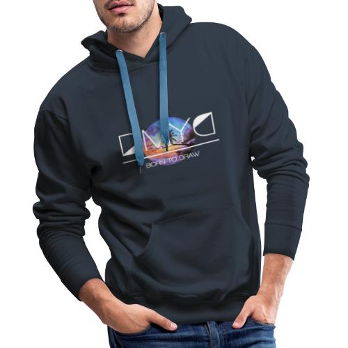 Sunset - New Caledonia Edition - Sweat-shirt à capuche Premium pour hommes