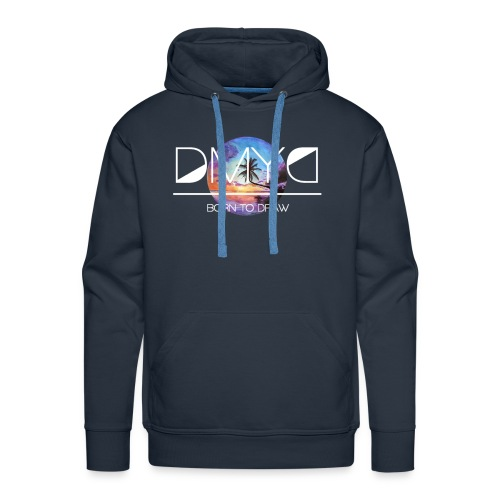 Sunset - New Caledonia Edition - Sweat-shirt à capuche Premium pour hommes
