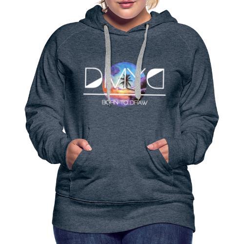 Sunset - New Caledonia Edition - Sweat-shirt à capuche Premium pour femmes