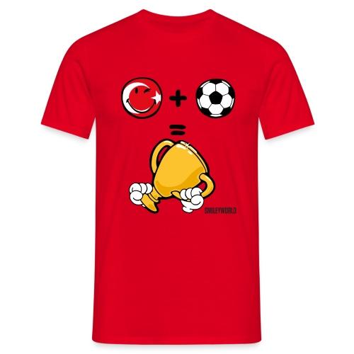 SmileyWorld Turkey + Football = Winner - Männer T-Shirt