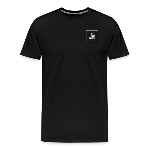 Mens Premium 20Hertz White Logo Shirt - Men's Premium T-Shirt