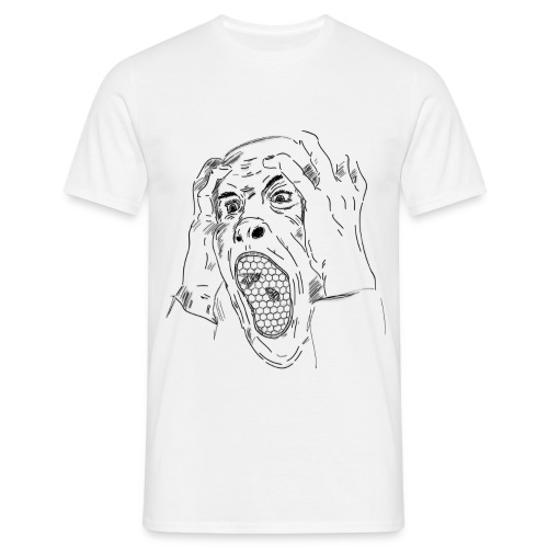 Screaming - Maglietta da uomo