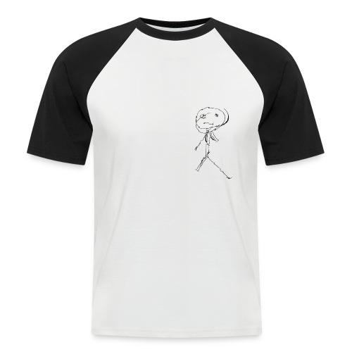 Stickman Creepandcraze - Maglia da baseball a manica corta da uomo