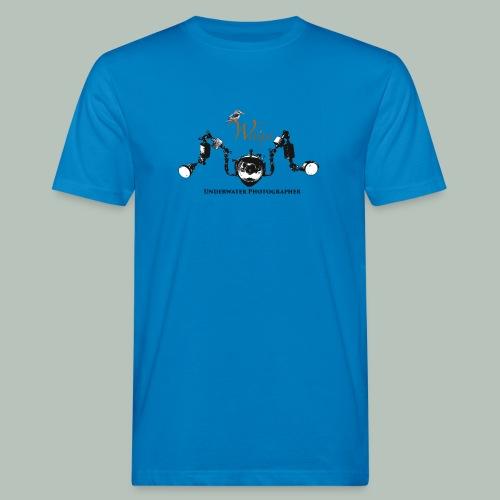 T shirt homme caisson de plongée + petit logo - T-shirt bio Homme