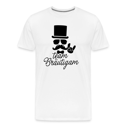 Team Bräutigam T-Shirt - Premium 100% Baumwolle - Männer Premium T-Shirt