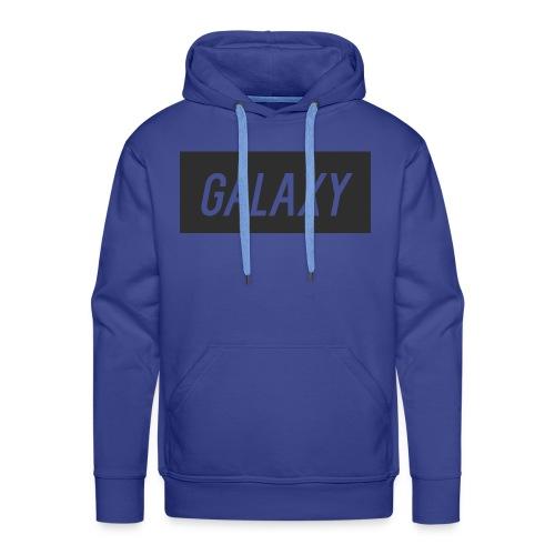 InternGalaxy Mens Blue Premium Hoodie - Men's Premium Hoodie