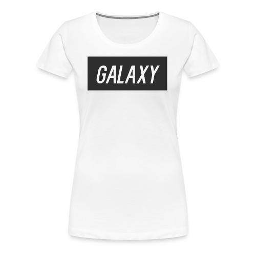 InternGalaxy White Womens Premium T-Shirt - Women's Premium T-Shirt