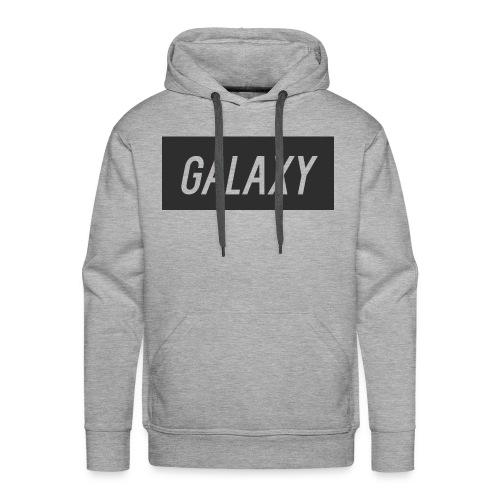 InternGalaxy Grey Mens Premium Hoodie - Men's Premium Hoodie