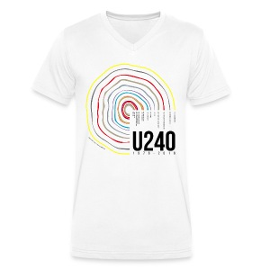 40: Tree of life (white, v-neck) - Men's Organic V-Neck T-Shirt by Stanley & Stella