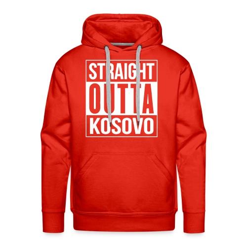Straight Outta Kosovo - Hoodie - Männer Premium Hoodie