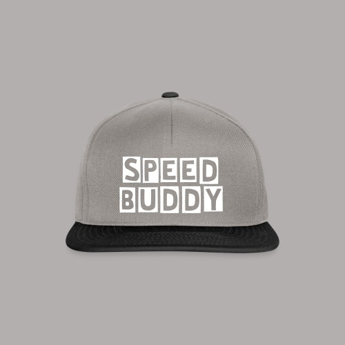 SPEED BUDDY CAP - Snapback Cap