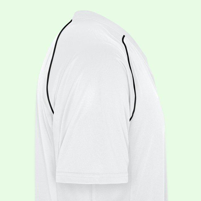 Mann. Fotballskjorte. Kult pustende stoff.
