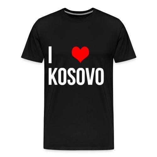 I Love Kosovo - T-shirt - Männer Premium T-Shirt