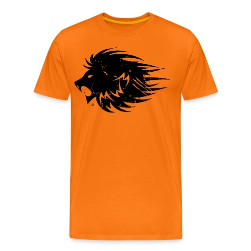 Modernwarriorbody Courage Lion T-shirt - Men's Premium T-Shirt