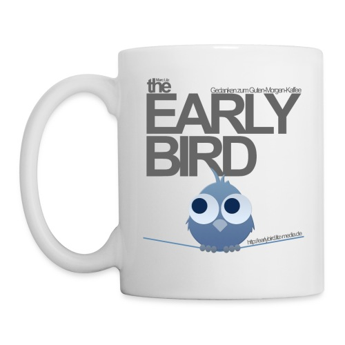The Early Bird Tasse - Weiß - Tasse