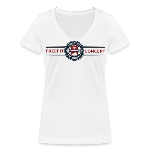 Tshirt Femme Col en V - T-shirt bio col V Stanley & Stella Femme