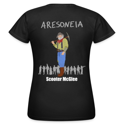 Aresoneia-McGlee (Weiß) - Damen-Shirt - Frauen T-Shirt
