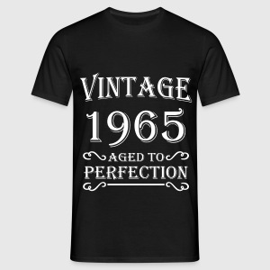 Vintage 1965 - Aged to perfection T-shirts - T-shirt herr