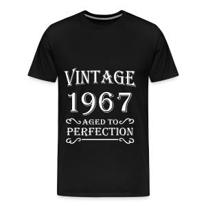 Vintage 1967 - Aged to perfection T-shirts - Premium-T-shirt herr