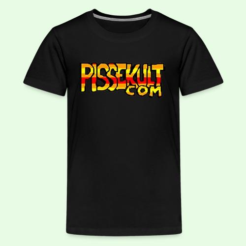 Barn - Premium T-skjorte for tenåringer