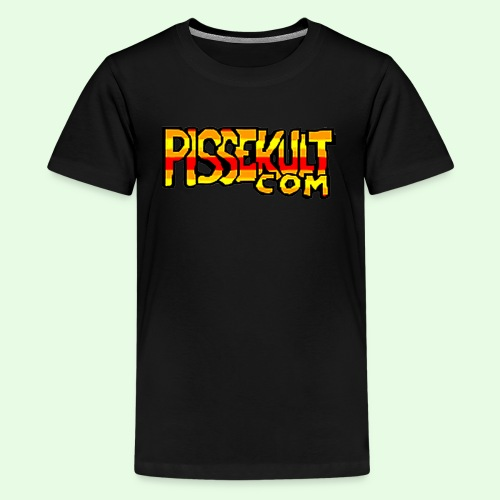 pissekult.com Barn - Premium T-skjorte for tenåringer