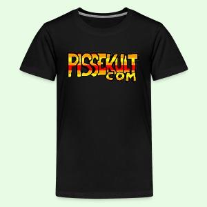 pissekult.com Tenåring - Premium T-skjorte for tenåringer