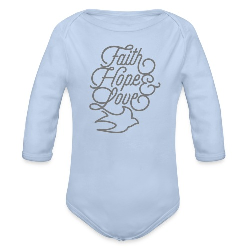 Baby Strampler - Baby Bio-Langarm-Body