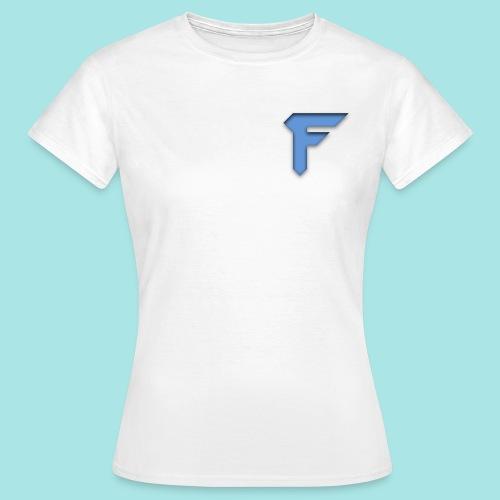 FluFFy Productions T-Skjorte for Kvinner (Stor Logo) - T-skjorte for kvinner