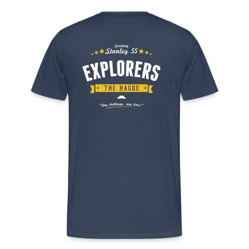 Explorers T-shirt heren - Mannen Premium T-shirt