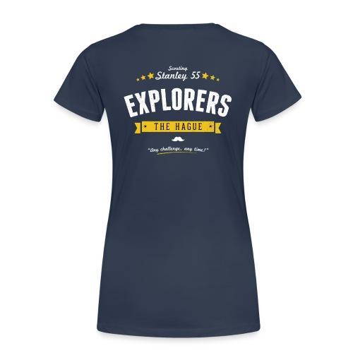 Explorers T-shirt dames - Vrouwen Premium T-shirt