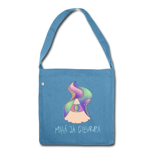 169 x @boisurf Blue Recycled Tote Bag - Shoulder Bag made from recycled material