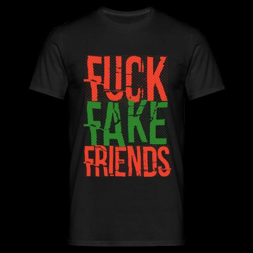 FUC* FAKE FRIENDS - Männer T-Shirt