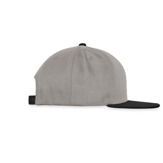 Basecap, grau-schwarz