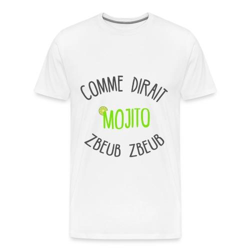 Tee Shirt Mojito Homme Premium - T-shirt Premium Homme