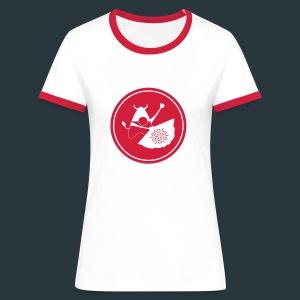 Jugshirt white - T-shirt contrasté Femme