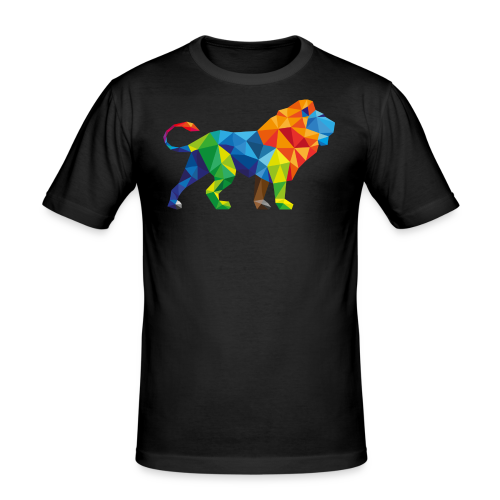 Colorfull Lion Shirt - slim fit T-shirt