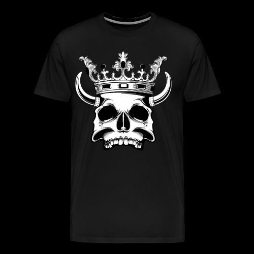 Skull T-shirt - Mannen Premium T-shirt