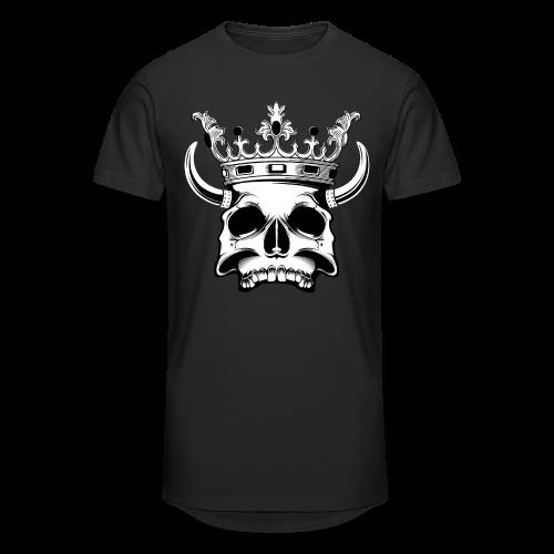 Skull Longshirt - Mannen Urban longshirt